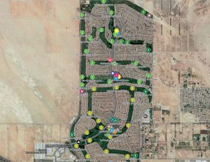 Map Sun City PD