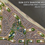 Sun City Shadow Hills Golf Map North Course Par 3