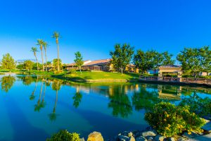 Catch & Release Pond in Sun City Palm Desert