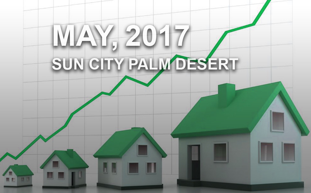Home Sales Sun City Palm Desert - May 2017