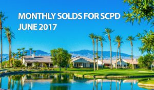 Monthly Solds for Sun City Palm Desert