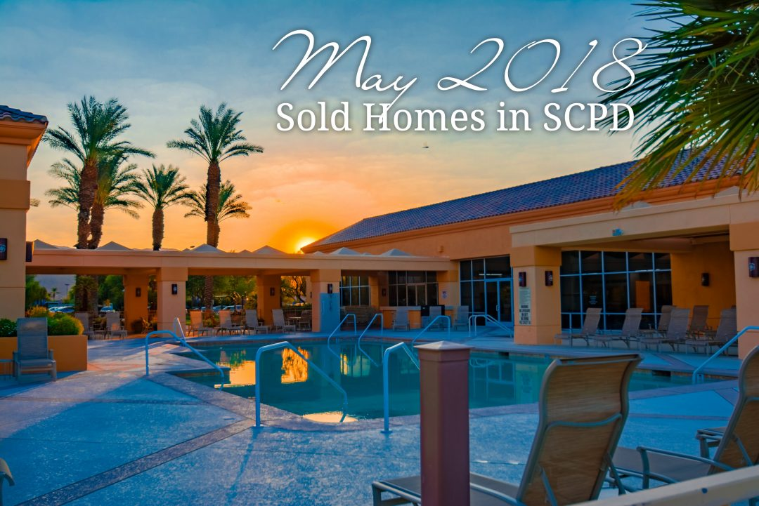 Sold homes May 2018