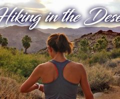 Hiking in the Desert