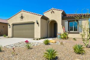 Model homes in Del Webb Rancho Mirage